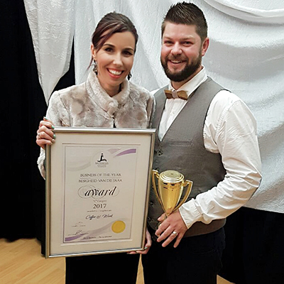 Small Business of the year Award for Mossel Bay